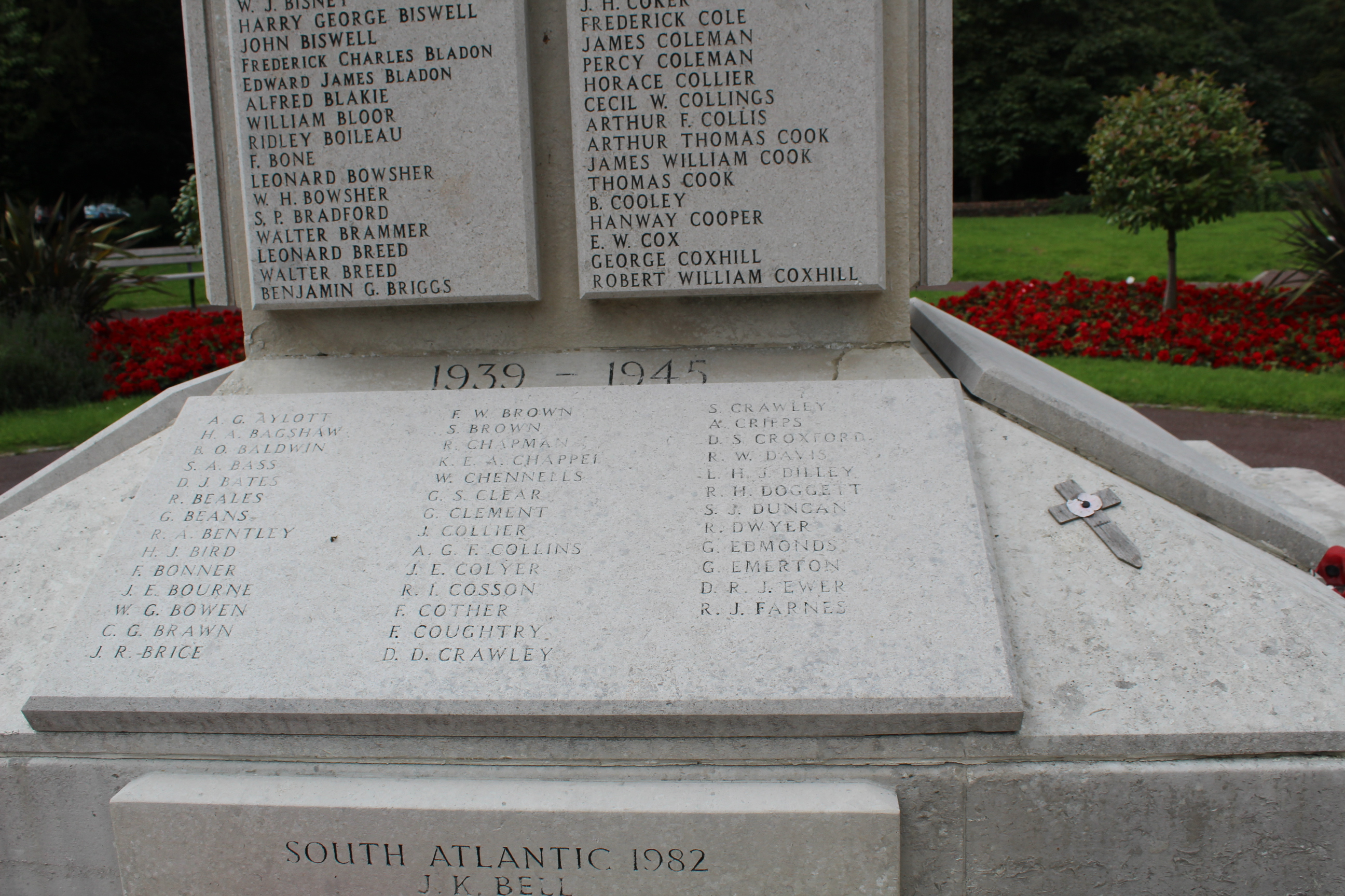 HEMEL HEMPSTEAD - War Memorials Online